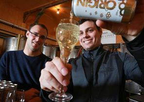 Brothers giving lowly Ontario wine a makeover